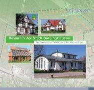 Bauen in der Stadt Barsinghausen