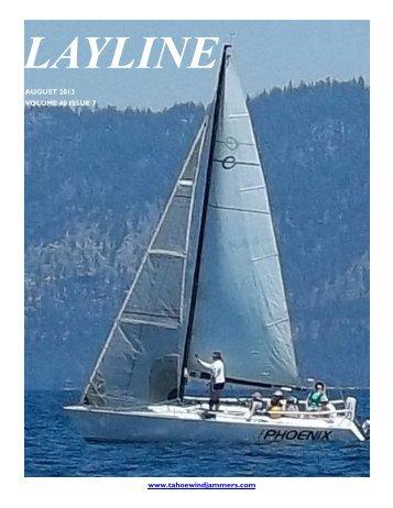 August 2013 - Tahoe Windjammers Yacht Club