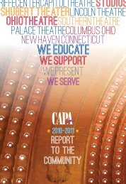 to view the 2010-2011 Annual Report (PDF) - CAPA.com