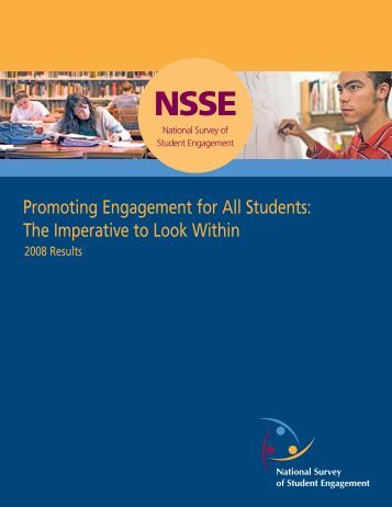 Promoting Engagement for All Students - NSSE - Indiana University ...