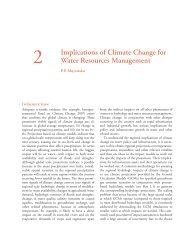 Implications of Climate Change for Water Resources ... - IDFC