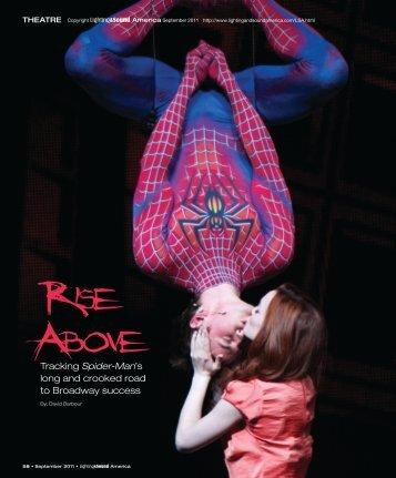 Spider-Man's - Lighting & Sound America