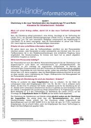 Hinweise für Arbeiterinnen / Arbeiter - Vau-online.de