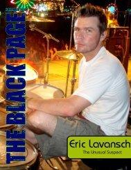 Eric Lavansch - The Black Page Online Drum Magazine