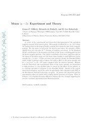 arXiv:hep-ph/0703049v1 5 Mar 2007 - g-2 at Boston University ...