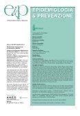 Indicatori di qualità per la valutazione - Agenzia di Sanità Pubblica ... - Page 2