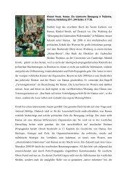 Khaled Hroub, Hamas. Die islamische Bewegung ... - Ludwig Watzal