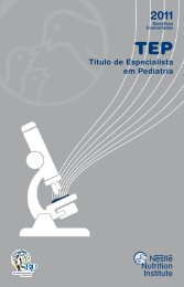 TEP 2011 - Sociedade Brasileira de Pediatria