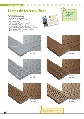 notice d 39 utilisation des lames de terrasse bois composite point p. Black Bedroom Furniture Sets. Home Design Ideas