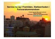 (Microsoft PowerPoint - om Service nu og i fremtiden for St ...