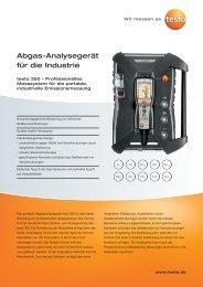 Abgas-Analysegerät für die Industrie - Aura Nord