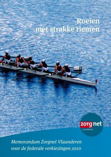 Roeien met strakke riemen - Zorgnet Vlaanderen