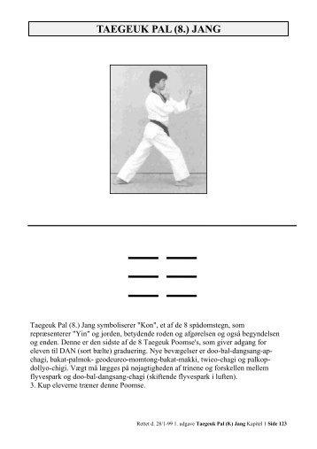 Taegeuk Pal Jang - Ballerup Taekwondo Klub