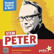 Stem Peter - PVDA Antwerpen - PVDA+