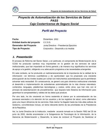 PLAN PROYECTO HOSPITAL MEXICO - Especial de nacion.com ...