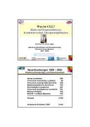 Was ist CLL? - Myelom Hilfe Österreich