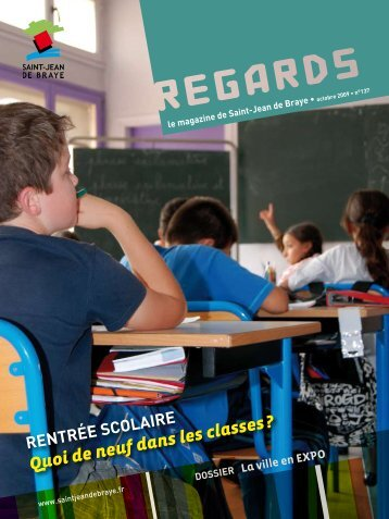 """Regards"" octobre 2009 (pdf - 2,62 Mo) - Ville de Saint Jean de Braye"