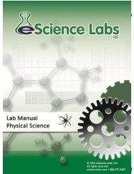 Lab 5: Molecular Models - eScience Labs