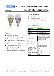 SL-60A LED Lamp Series - REGO-Lighting GmbH