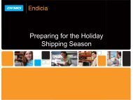 Preparing for the Holiday Shipping Season - Endicia
