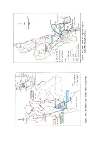 Figure 3 Sub-basin, Dams and Irrigation Projects in the Mae Klong ...