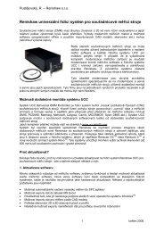 Renishaw univerzální řídicí systém pro souřadnicové měřicí stroje