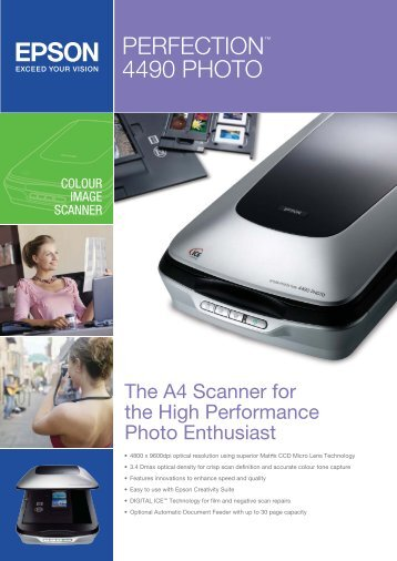 Epson PERFECTION 4490 PHOTO