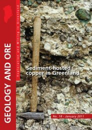 Sediment-hosted copper in Greenland - Geus