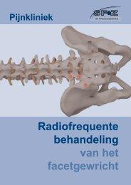 Radiofrequente behandeling van het facetgewricht - Sfz.be