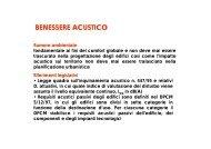 BENESSERE ACUSTICO.pdf - Dipartimento di Tecnologie dell ...