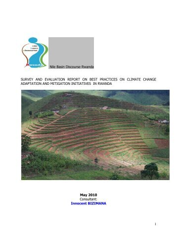 survey and evaluation report on best practices on - NBDF Rwanda