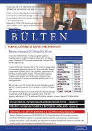 Mayıs-2013 - Türkiye Otelciler Federasyonu