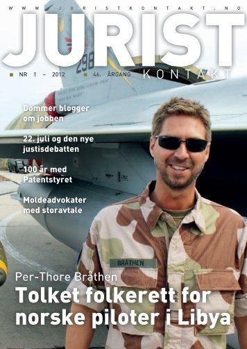 Juristkontakt 1 - 2012