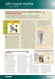MUSEO DELLA SCIENZA DEL GRANO ... - Storia In Rete