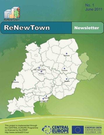 E1 Newsletter no 1 slovakia - ReNewTown