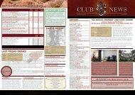 September - The Wellington Club