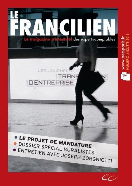 Le Francilien - Ordre des experts-comptables de Paris Ile-de-France