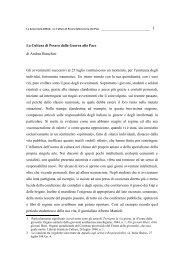 La Cultura di Pesaro dalla Guerra alla Pace di Andrea Bianchini Gli ...