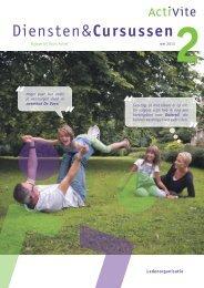 Diensten&Cursussen2mei 2013 - ActiVite