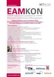Dienstag, 17. - EAMKON2012 - Enterprise Architecture Management