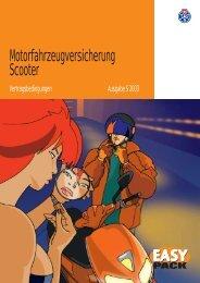 Motorfahrzeugversicherung Scooter - dieAutoversicherung.ch