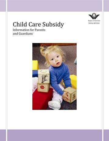 Manitoba Child Care Subsidy