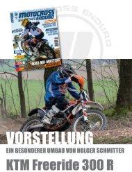 KTM Freeride 300 R – ein besonderer Umbau von Holger Schmitter