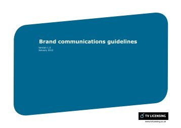 RFI20111589 document 2 TVL Brand Guidelines R