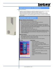 HEAT EXCHANGER 35 (PS035035) FEATURES AND ... - Dantherm