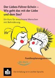 """Kurs """"Der Liebesführerschein – Wie geht das mit der Liebe - FPZ"""