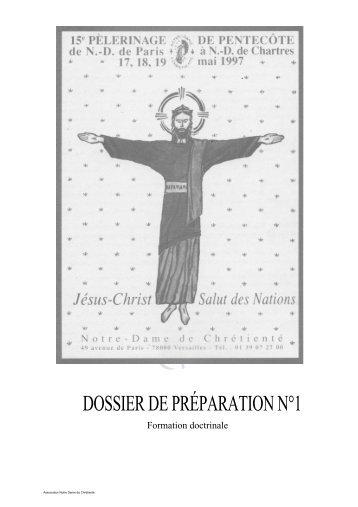 15 17-18-19 mai 1997 Dossier - Jésus Christ, salut des nations