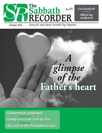 A glimpse of the Father's heart - Seventh Day Baptist | General ...