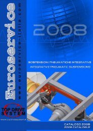 Integrative pneumatic suspension ... - Topdrivesystem.it