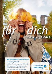 heidelberg BIOGAS - Heidelberger Versorgungs